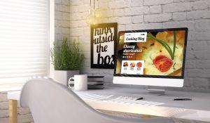food blog concept